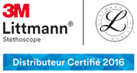 Distributeur certifié 3M Littmann